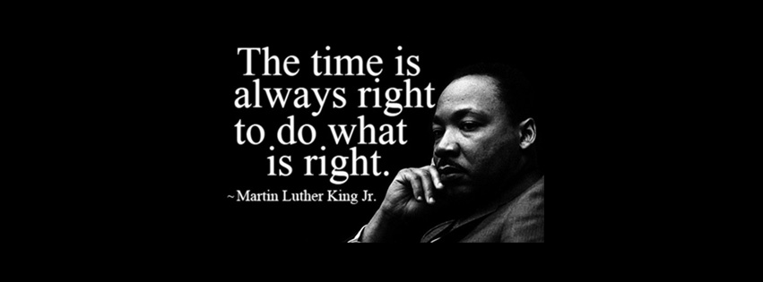 Join the BE THE CHANGE facebook group where it is always the right time to do what is right!