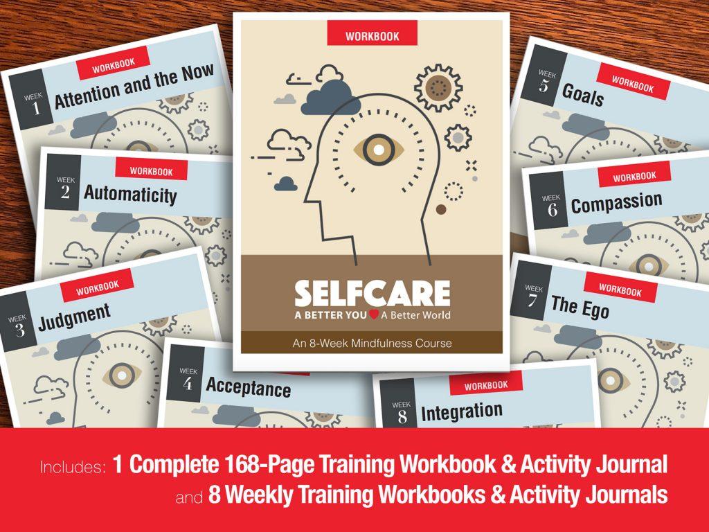 SELFCARE Mindfulness Workbooks & Activity Journals