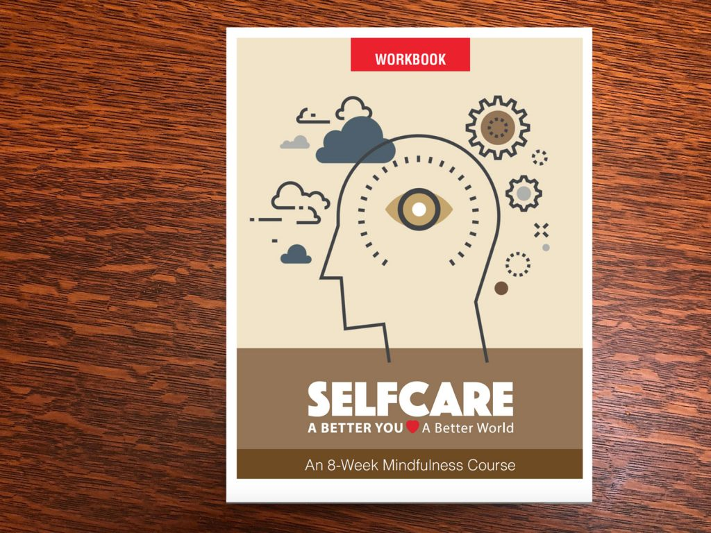 Selfcare 8-week mindfulness course workbook cover
