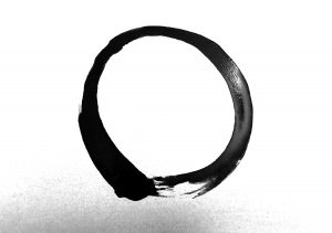 Hellagood Life enso painting - 2021 meditation motivations